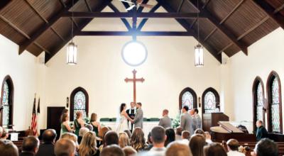 A wedding at CPC.